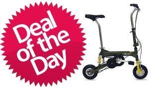 Illustration for article titled This Mini Bike Is Your Lance-Armstrong-Jr Deal of the Day