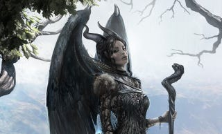Illustration for article titled Delve Deep into the World of Maleficent With Its Concept Art