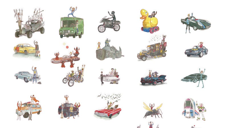 Ride On! by Mark Chilcott is on display July 29 at Bottleneck Gallery in Brooklyn. All Images: BNG