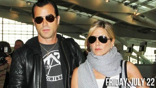Illustration for article titled Justin Theroux Takes It To The Next Level, Introduces Jennifer Aniston To His Family