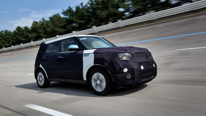 Illustration for article titled Kia Soul EV Will Supposedly Have A Huge 120 Mile Range