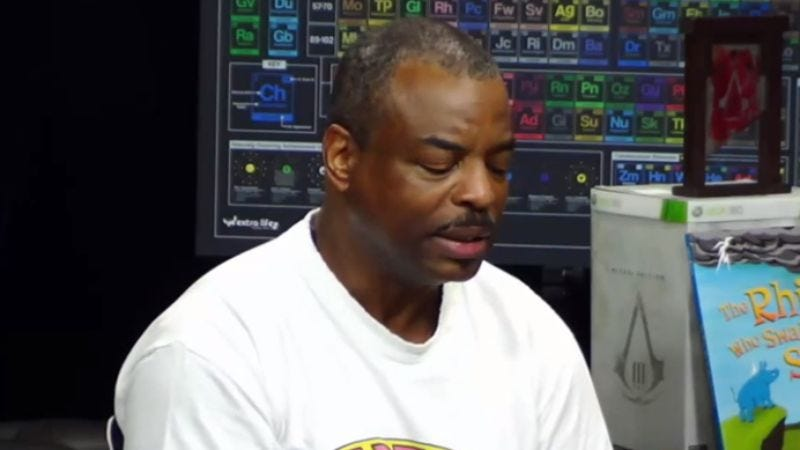 Illustration for article titled LeVar Burton gives Go The Fuck To Sleep an oddly reassuring reading