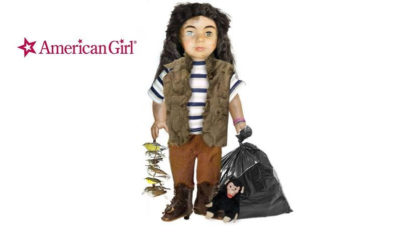 meet gruncheon the newest american girl doll