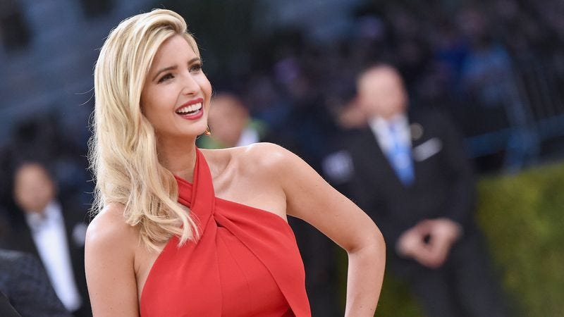 Ivanka Trump attends the 2016 Costume Institute Gala at the Metropolitan Museum Of Art (Photo: Mike Coppola/Getty Images for People.com)