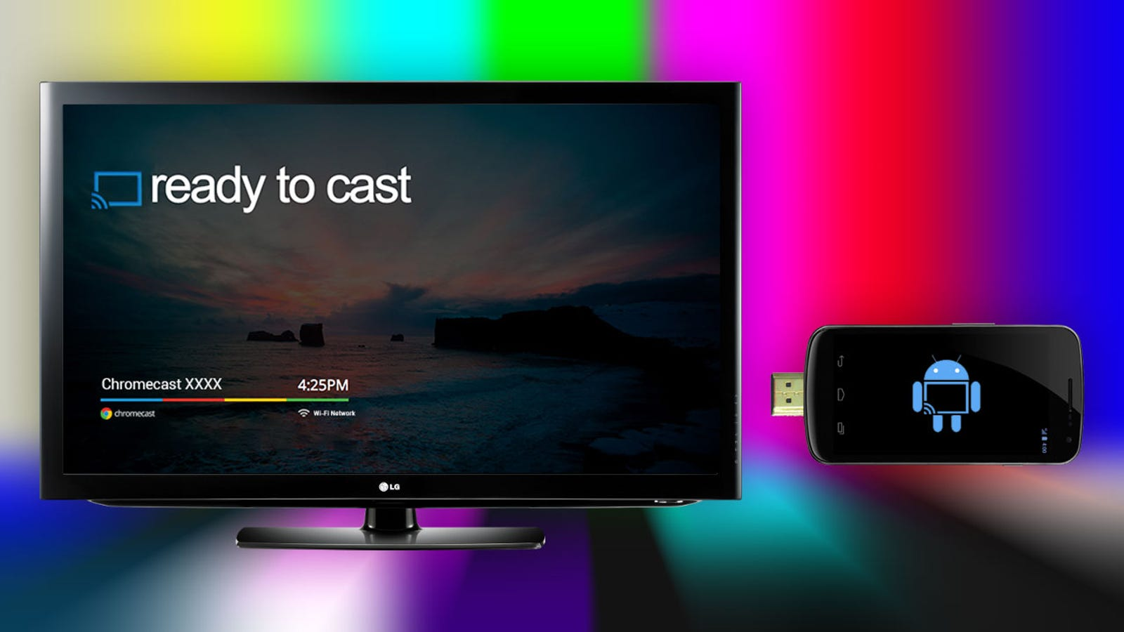 How To Turn An Android Phone Into A Chromecast For Free With Cheapcast Original Google Untuk Mirroring Miracast Cast Chrome