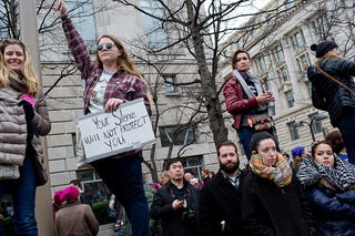 The Women's March in Washington, D.C., on Jan. 21, 2016 (Getty Images)