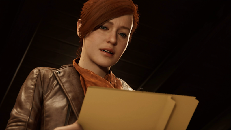 Mary Jane in Marvel's Spider-Man for the PlayStation 4.
