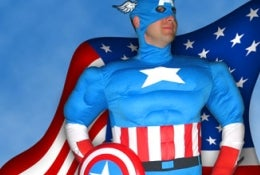 Illustration for article titled Cinema's Captain America... Revealed! Okay, Not Really