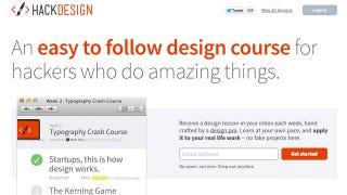 Illustration for article titled Hack Design Delivers Design Lessons to Your Inbox Each Week