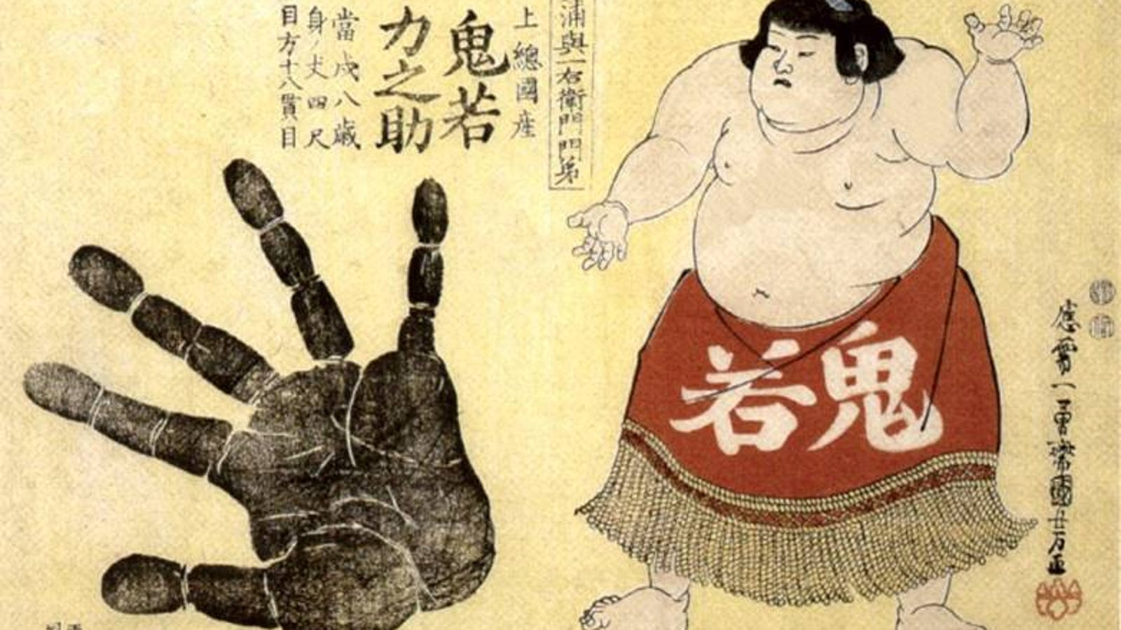 Digit ratio: low 2D:4D finger length ratios are more successful in Sumo wrestling.