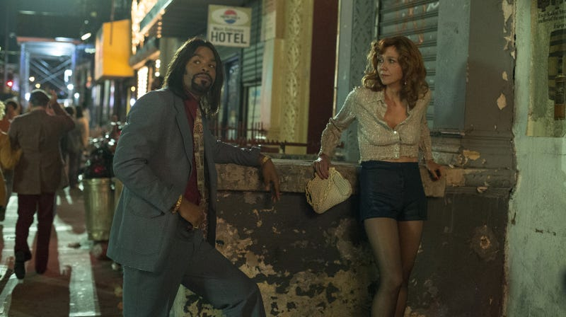 Method Man and Maggie Gyllenhaal star in The Deuce