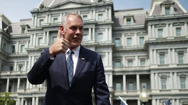 Ryan Zinke Scribbles About His Public Lands Legacy as National Parks Devolve Into Chaos