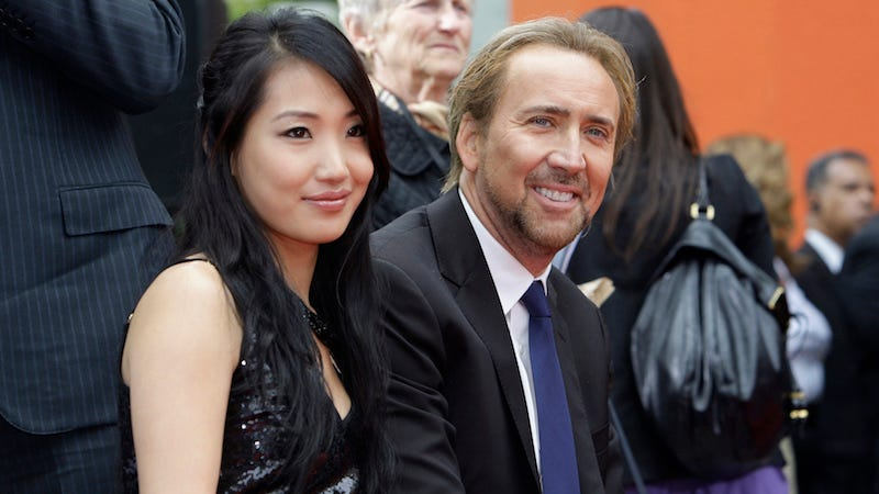 Illustration for article titled Nicolas Cage and Alice Kim Split After 11 Year Marriage