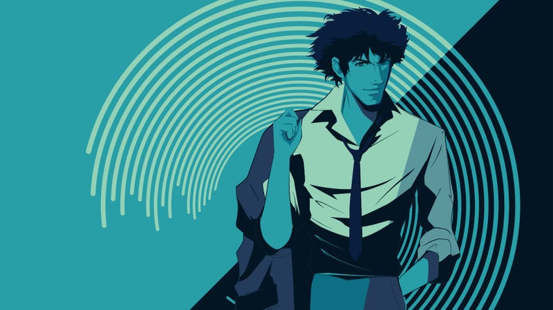 A crop of Spike from Cowboy Bebop, by artist Craig Drake