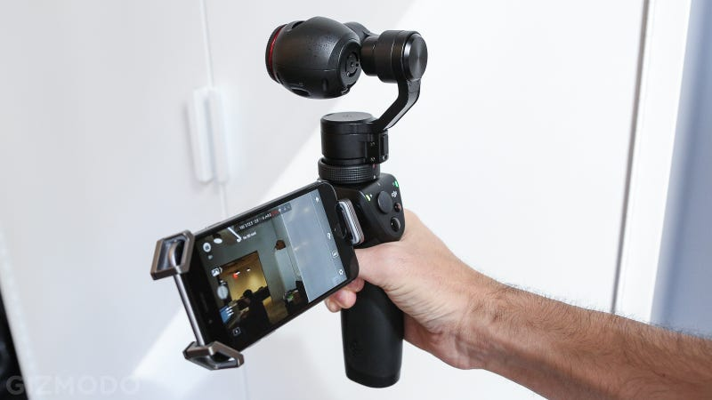 Dji Osmo Hands On A 4k Cam For Super Steady Video No