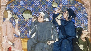 Illustration for article titled No, Medieval people didn't drink booze to avoid dirty water