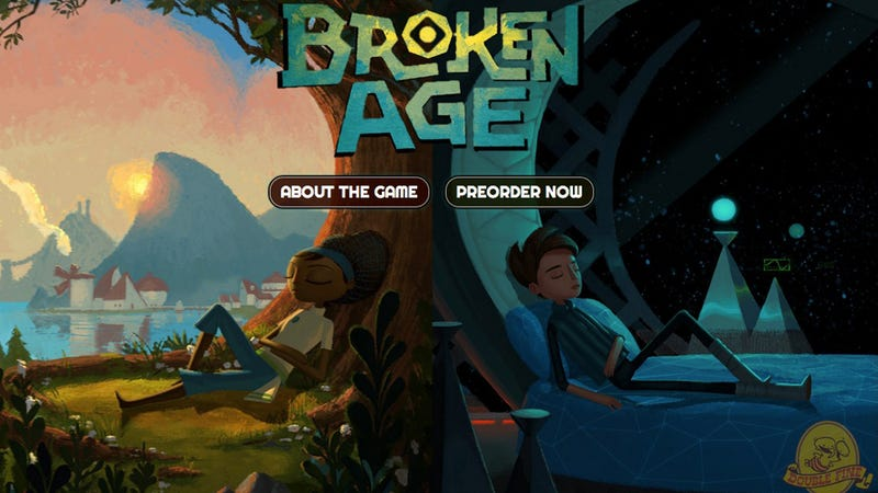 Illustration for article titled Tim Schafer's Double Fine Adventure Game Revealed: Meet Broken Age