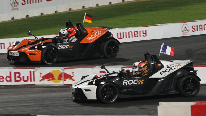 Illustration for article titled The Race Of Champions Is A Little Light On Champions This Year