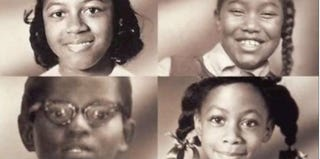 The four girls killed during the 16th Street Baptist Church bombing (screenshot from YouTube)