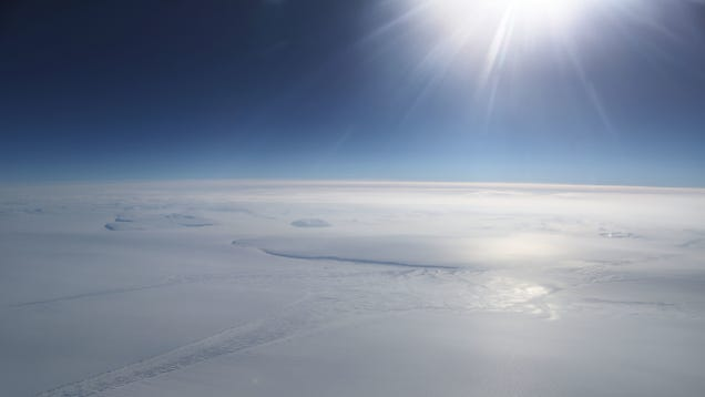 The South Pole Is Warming Three Times Faster Than the Rest of Earth