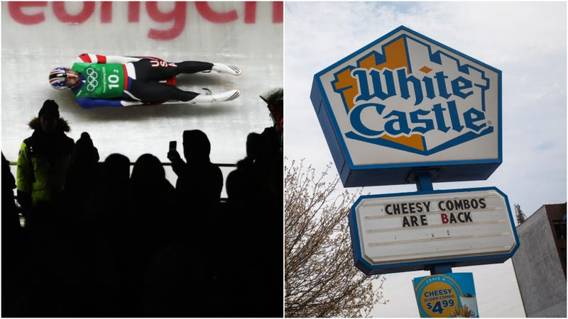 "Illustration for article titled White Castle sponsors luge team, supporting ""next generation of sliders"""