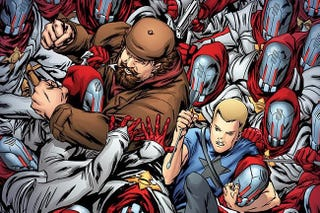 Illustration for article titled Archer & Armstrong Could Be The Next Great Comic Book Movie