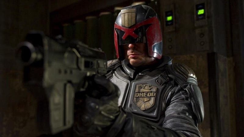 Illustration for article titled Alex Garland Says That Dredd 2 Is Not Going To Happen