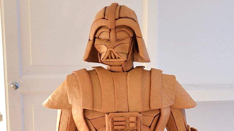 Illustration for article titled We Need to Make Room For This Gingerbread Darth Vader in the Smithsonian