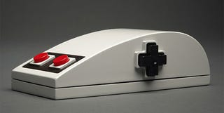Illustration for article titled The NES Mouse Looks Beautiful, Uncomfortable