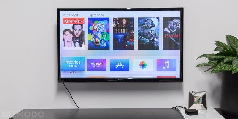 Open Box Apple TV, $135