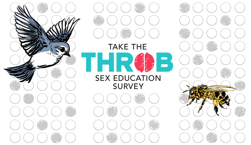 Illustration for article titled There's Still Time to Take the Throb Sex Education Survey