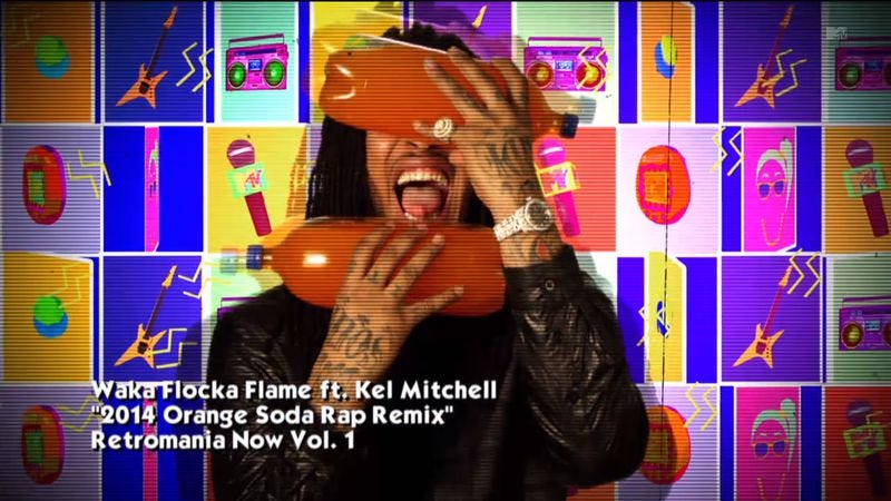 Waka Flocka Flame and Kel Mitchell made a rap about orange ...Kel Mitchell Waka Flocka