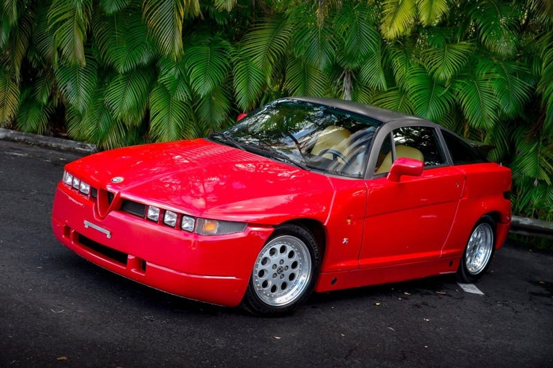 At 60 000 Could This 1990 Alfa Romeo S Z Prove That Beauty Is