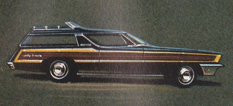 Illustration for article titled What Is This Mystery Ford Concept Wagon?