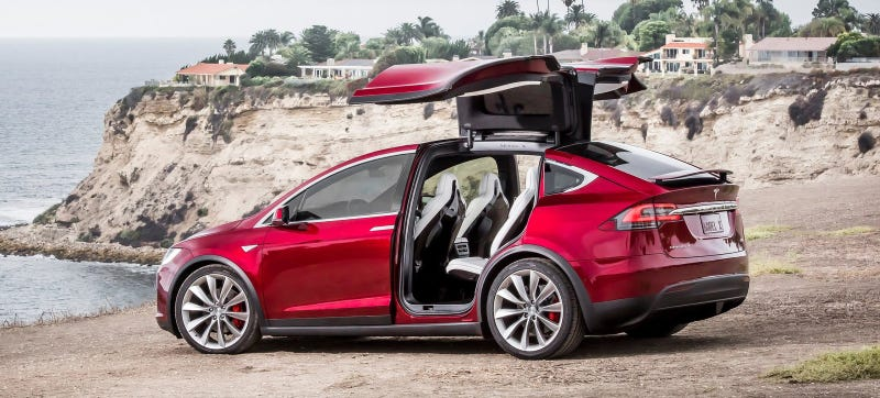 Illustration for article titled Tesla To Recall 2700 Model X SUVs Over Rear Seats That Could Fold In Crash