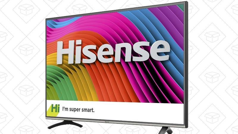 "Hisense 43"" 4K Smart TV, $300 for Prime members"