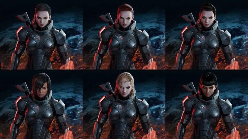 Illustration for article titled What Does Mass Effect 3's Official 'Fem Shep' Look Like? You Make the Call!