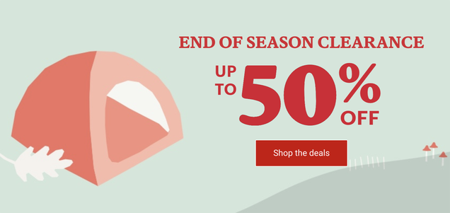 Enjoy the Outdoors Even More With Up to 50% Off at REI s End of Season Sale