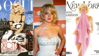 Illustration for article titled Lindsay Lohan Is Just Like Marilyn Monroe, According To Lindsay Lohan