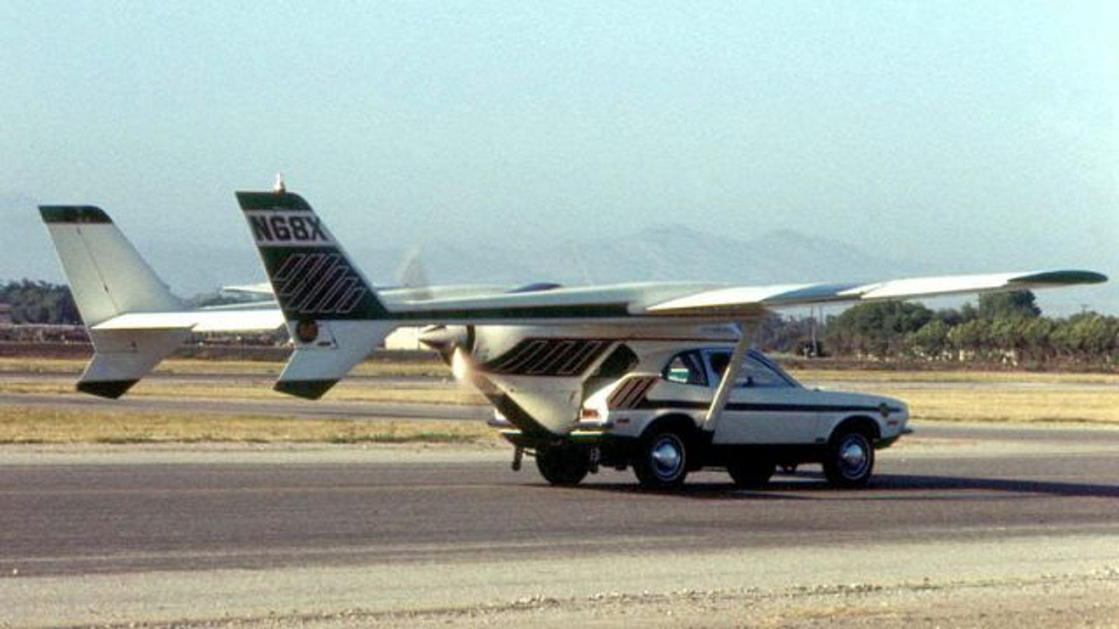The first flying car was based on the Ford Pinto, and killed its ...