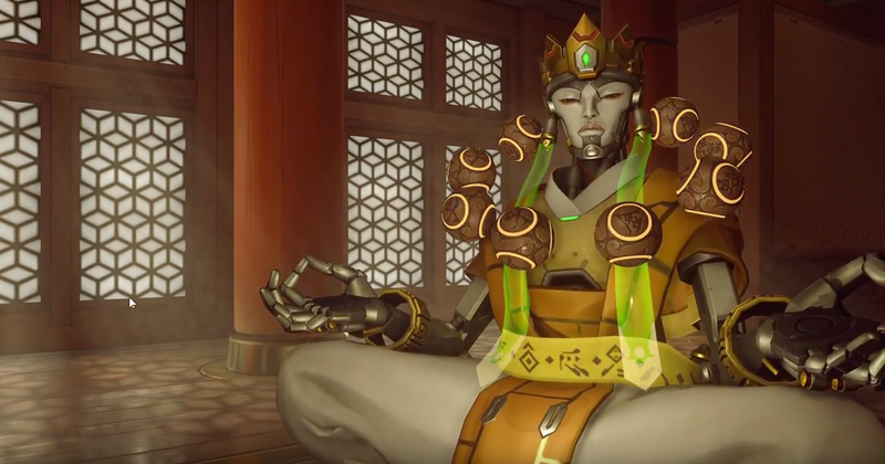 Illustration for article titled The Latest Overwatch Thing Is 'Hot Zenyatta'