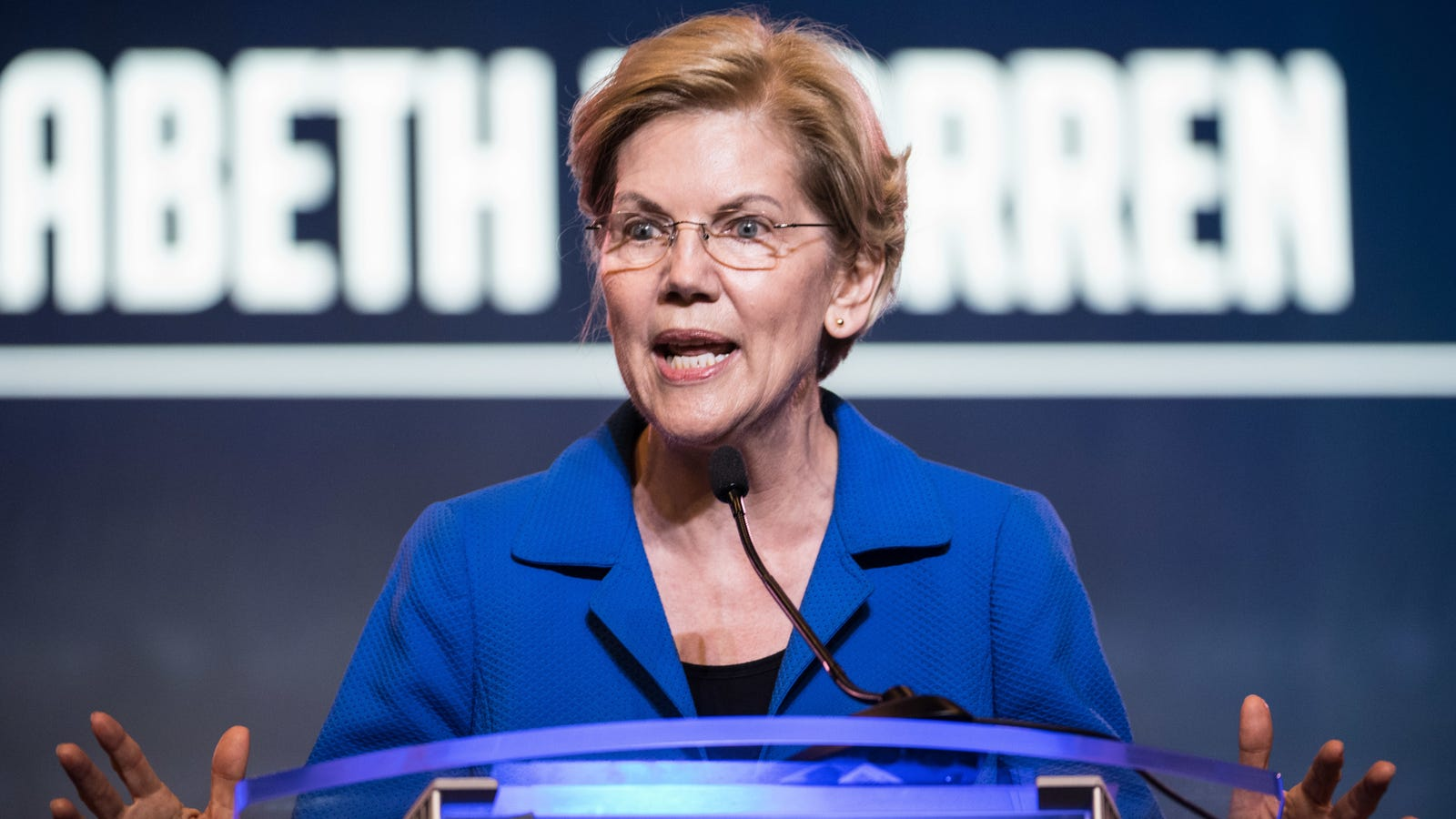Elizabeth Warren Wants to Create a New Agency to Fix America's Laughable Election Security