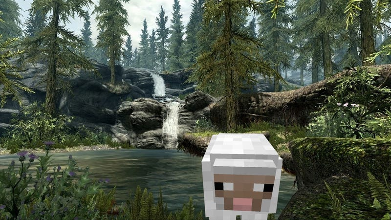 Illustration for article titled Skyrim Will Have Infinite Randomly Generated Content. But Will It Ever Feel as Real as Minecraft?