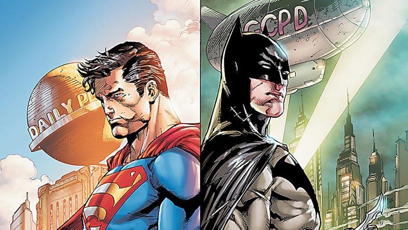 Illustration for article titled Batman y Superman se verán las caras en la próxima película de DC