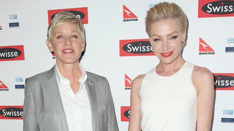Illustration for article titled Ellen DeGeneres and Portia de Rossi Still Don't Want Kids, But Thanks For Persisting to Ask Them