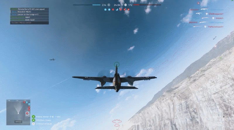 Player Finds A Creative Way To Take Down A Rocket In Battlefield V