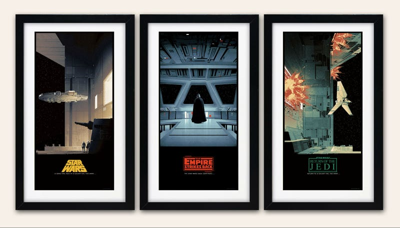 Illustration for article titled These New Star Wars Posters Are Simply Perfect