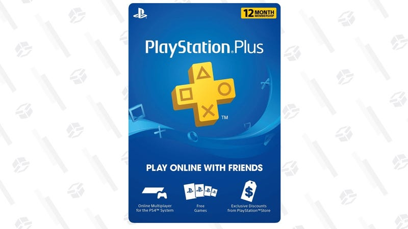 PlayStation Plus: 12 Month Membership | $40 | Amazon