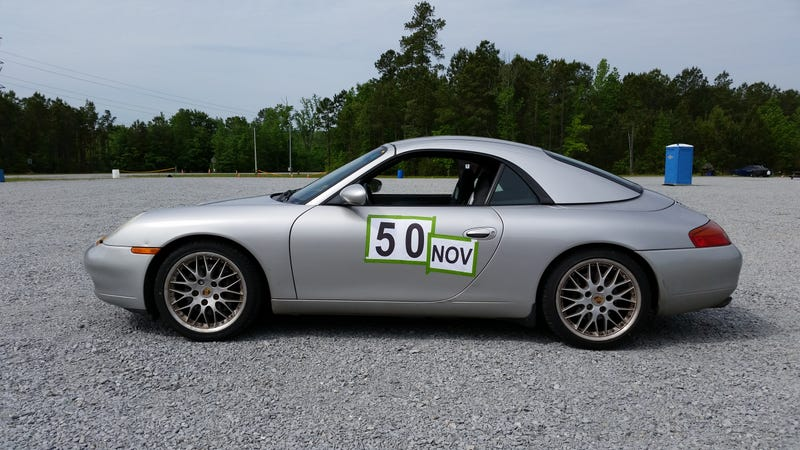 Illustration for article titled I Did My First Autocross on Saturday...in a Porsche 911 I Don't Own