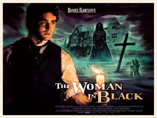 Illustration for article titled Woman in Black Poster Gallery